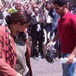 رقص خانم وزیر ، کار دستش داد! + عکس