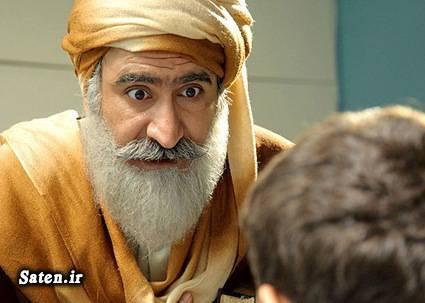 بیوگرافی سید محمود رضوی بیوگرافی احمد علامه دهر بازیگران سریال پرده نشین