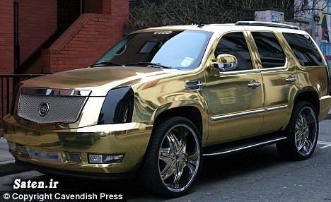 ماشین طلایی گرانترین خودرو درآمد فوتبالیستها خودروی طلایی ثروت فوتبالیست ها