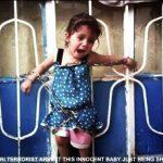 تکفیری های سوریه دختر بچه شیعه را به زنجیر کشیدند و سر پدر و مادرش را بریدند + عکس