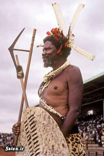 عکس های جالب و زیبا اخبار جالب Sobhuza II