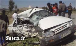 خوادث واقعی تصادف وزیر بهداشت اخبار حوادث