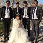 انتشار عکس های جنجالی از عروسی شهرام محمودی (والیبالیست)