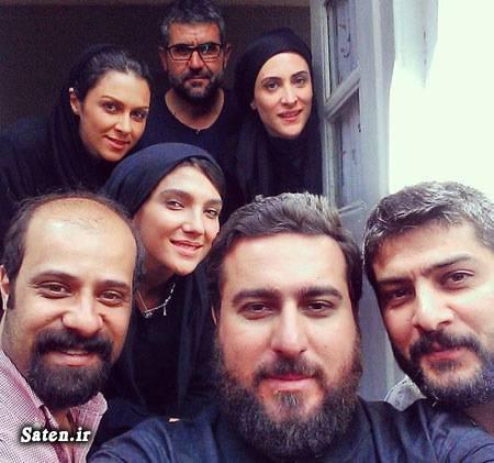 همسر محسن کیایی مصاحبه بازیگران بیوگرافی محسن کیایی بازیگران سریال پرده نشین