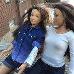 پایان دوران باربی : عروسک «لمیلی» با تتو و خالکوبی رسید! + عکس