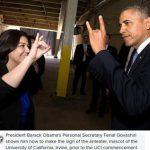 یک زنِ ایرانی ، منشی مخصوص باراک اوباما + عکس