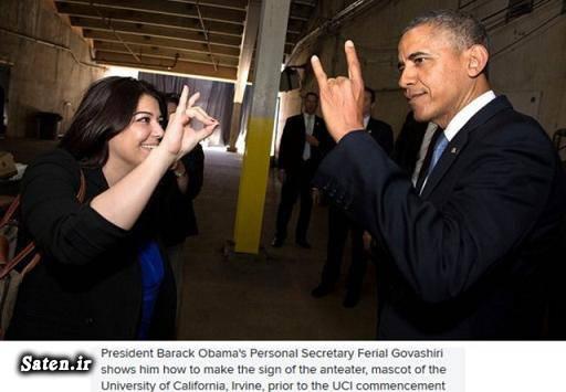 همسر فریال گواشیری همسر اوباما بیوگرافی فریال گواشیری ferial govashiri
