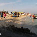 تفریحات ساحلی در کیش + عکس
