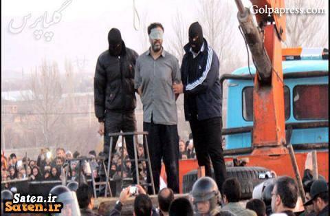 فیلم اعدام عکس اعدام سرقت مسلحانه اعدام منصور میرلوحی اخبار حوادث