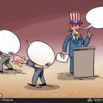 بزرگترین مشکل مردم آمریکا / کاریکاتور