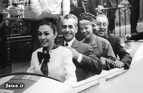 همسر محمدرضا شاه پهلوی همسر شاه عکس خصوصی فرح پهلوی عروسی محمدرضا شاه