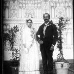 عروس و داماد زمان قاجار + عکس
