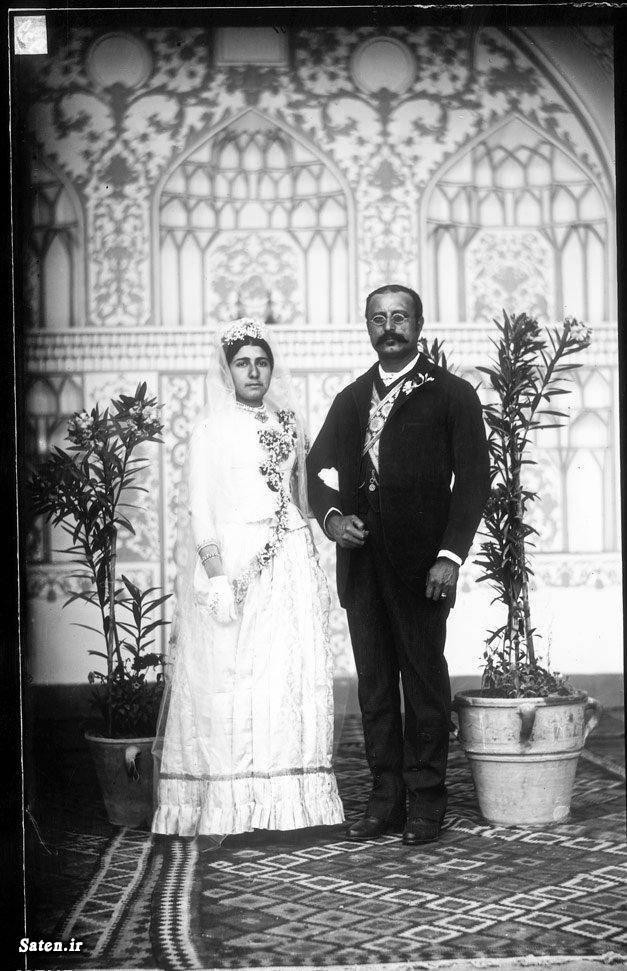 عکس قدیمی عروس شاه زن شاه تهران قدیم ایران قدیم