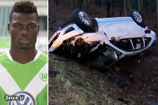مرگ فوتبالیست تصادف فوتبالیست اخبار حوادث اخبار تصادف