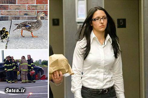 زن کانادایی دختر کانادایی اخبار حوادث