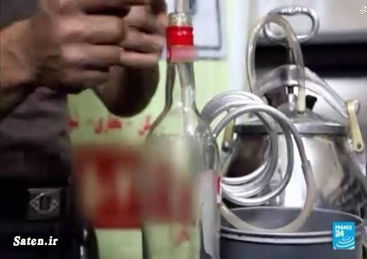 رقص دختر ایرانی تولید مشروب