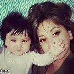 میامسا و ملینا همسر و دختر شادمهر عقیلی + عکس جدید