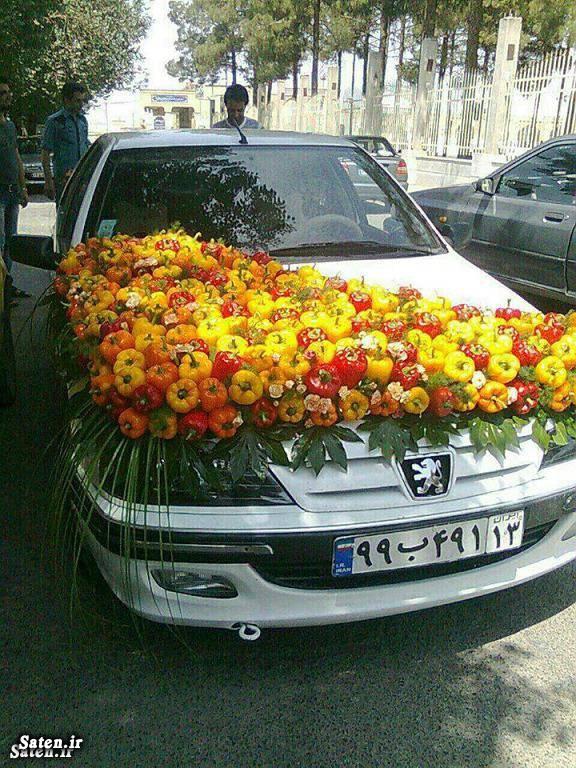 ماشین عروس ایرانی خلاقیت ایرانی بهترین ماشین عروس