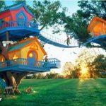 رویایی ترین و زیباترین خانه های چوبی دنیا + عکس