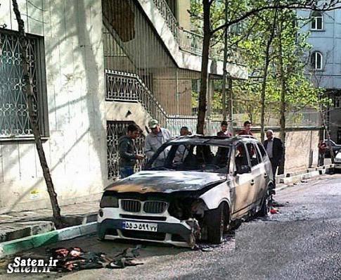 حوادث تهران اخبار حوادث آتش سوزی خودرو