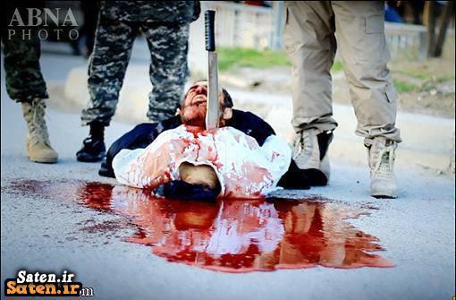 عکس داعش عکس اعدام جنایات داعش جلاد داعش اعدام داعش