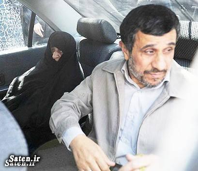 مادر احمدی نژاد