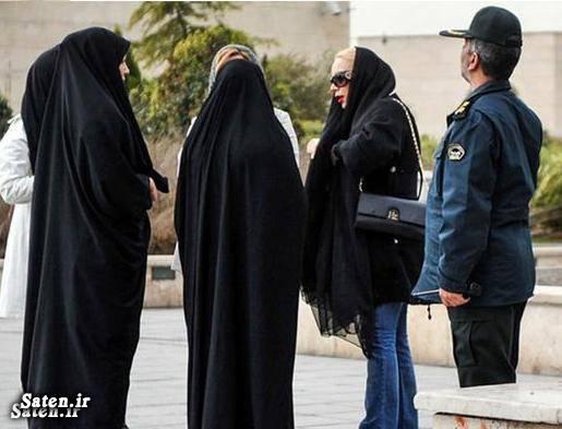 قانون حجاب عکس گشت ارشاد حجاب بازیگران