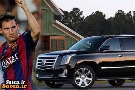 ماشین لیونل مسی قیمت کادیلاک اسکالاد خودرو لیونل سی خودرو فوتبالیست ها خودرو بازیکنان