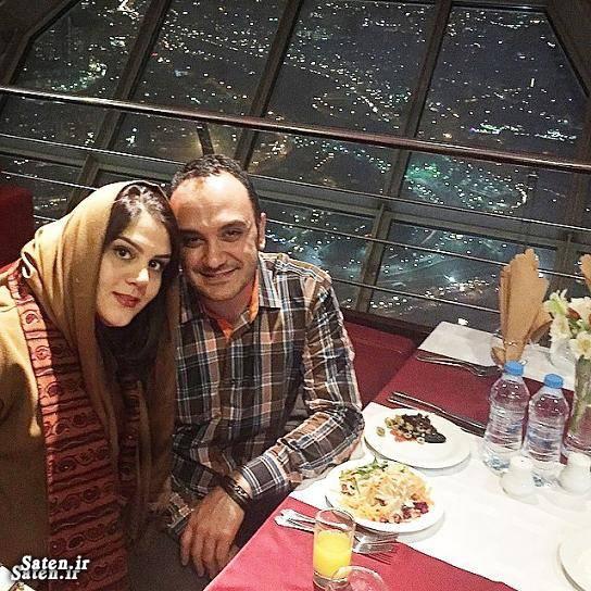 همسر مجری معروف همسر مجری مشهور همسر احسان کرمی بیوگرافی احسان کرمی ازدواج احسان کرمی