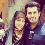 مجری برنامه ویتامین ۳ در کنار همسرش + عکس