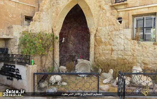 عکس کلیسا عکس داعش جنایات داعش اخبار داعش