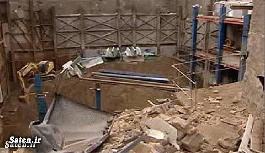 گودبرداری ساختمان حوادث تهران اخبار تهران