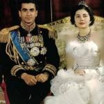 گردنبند بسیار گرانقیمت ملکه ثریا، همسر زیبای محمدرضا شاه بر گردن بازیگر هالیوودی + عکس