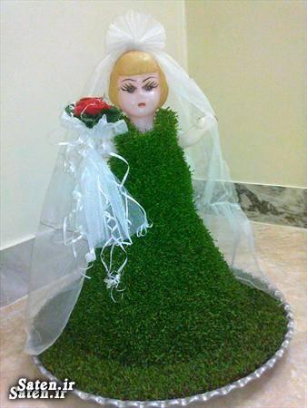 آموزش سبزه عید مدل عروسک