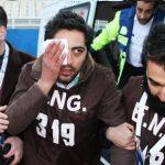 حمله دروازه بان الاهلی امارات به تصویربردار تبریزی + عکس