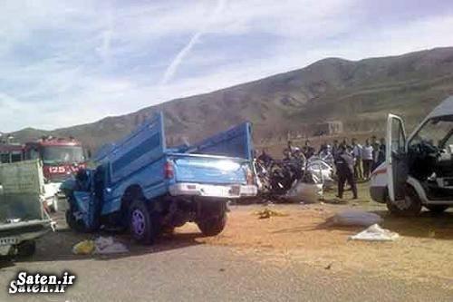 عکس تصادف مرگبار عکس تصادف حوادث واقعی تصادف وحشتناک در ایران اخبار تصادف