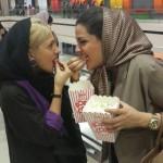 لیلا ایرانی بازیگر سریال (در حاشیه) ساخته مهران مدیری + عکس