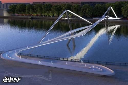 طراحی سازه پل طراحی پل زیباترین طرح معماری زیباترین پل پل لندن