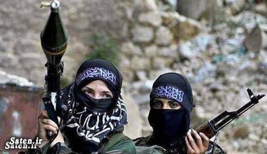 زن داعش زن تونسی دختر تونسی جنایات داعش اخبار داعش