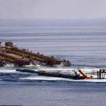 احتمال غرق شدن سکو فاز ۱۳ پارس جنوبی به علت برخورد کشتی بحرینی با این سکو