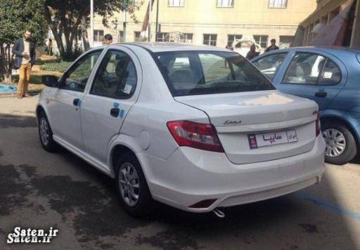 مشخصات ساینا قیمت خودرو ساینا پیش فروش محصولات سایپا