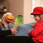 بارانا ، دختر بنیامین در برنامه کلاه قرمزی + عکس