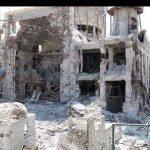 حرم حضرت سکینه در حمله تروریستهای سوریه تخریب شد + عکس