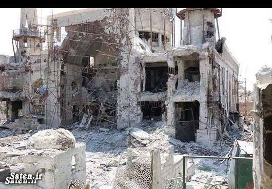حرم حضرت سکینه جنایات داعش جنایات اسرائیل جنایات آمریکا اخبار سوریه