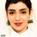 گوشواره های عجیب و متفاوت بازیگر زن ایرانی + عکس