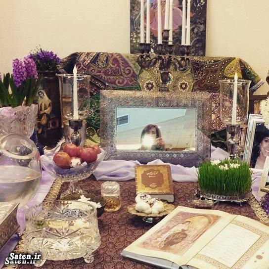 همسر هدیه تهرانی شوهر هدیه تهرانی سفره هفت سین بازیگران اینستاگرام هدیه تهرانی