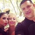 عکس های جنجالی علی دایی و همسرش با مهتاب مجاب ،نامزد بیژن پاکزاد در آمریکا