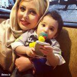 پسر شیلا خداداد در آغوش نیوشا ضیغمی + عکس