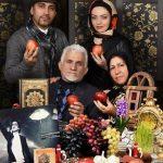 تازه عروس خانواده مرحوم مرتضی پاشایی کنار هفت سین + عکس