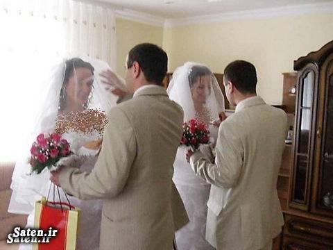 عروس های دوقلو دامادهای دوقلو ازدواج دوقلوها اخبار طلاق